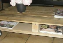 Comment faire une table en palette